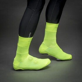 GripGrab Primavera Midseason Cover Socks yellow hi-vis